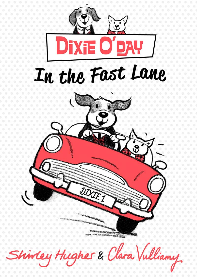 Dixie O'Day: In The Fast Lane - Jacket