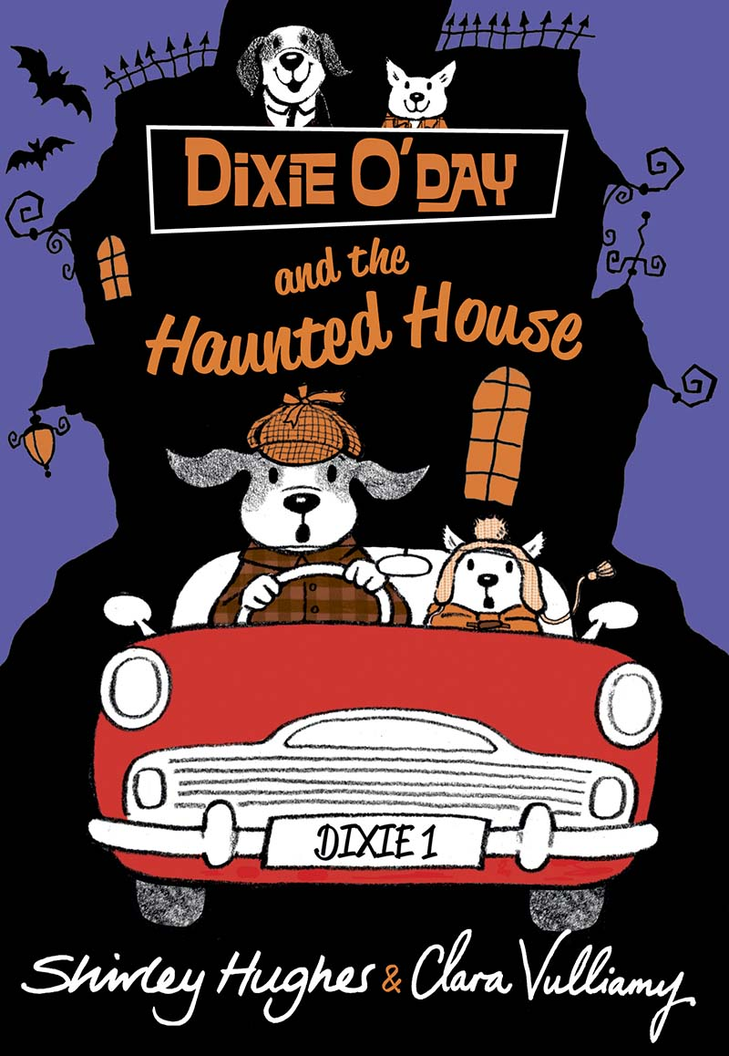 Dixie O'Day and the Haunted House - Jacket