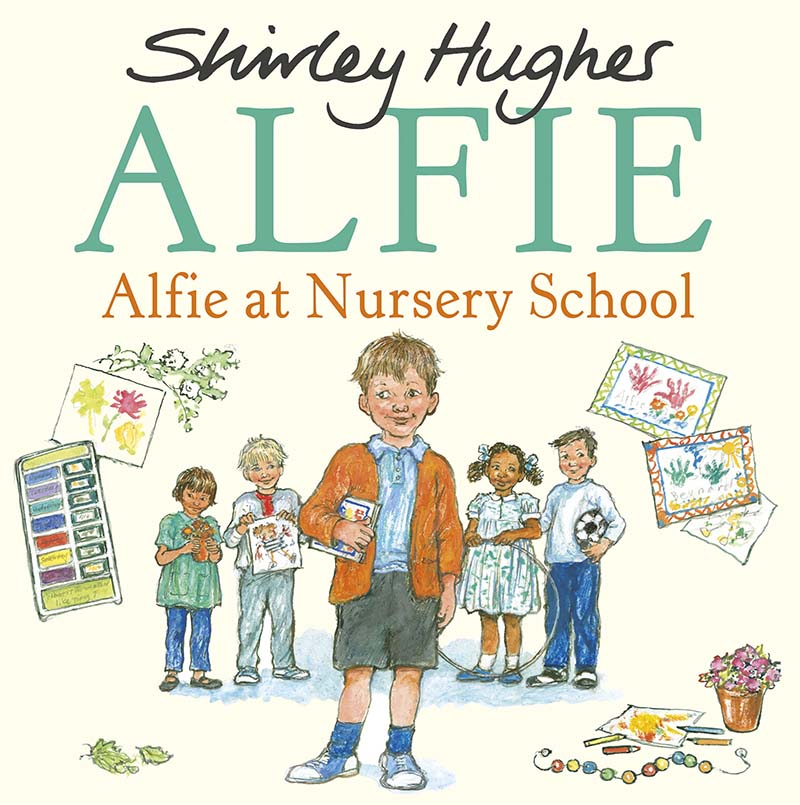 Alfie at Nursery School - Jacket