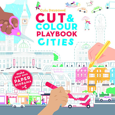 Cut & Colour Playbook Cities - Jacket
