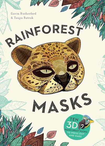 Rainforest Masks - Jacket
