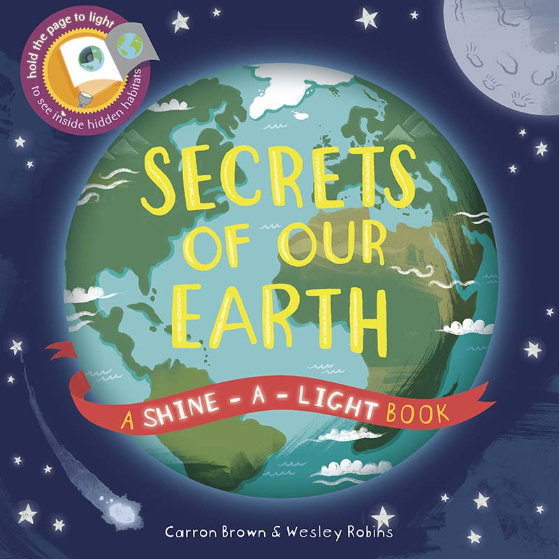 Secrets of Our Earth - Jacket