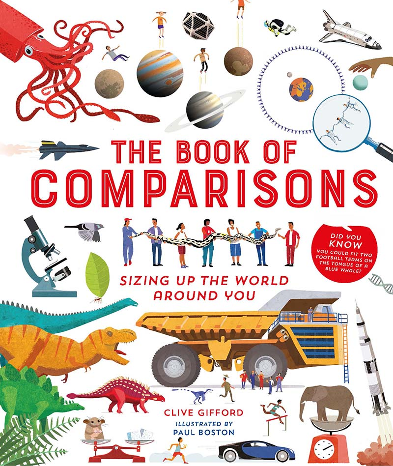 The Book of Comparisons - Jacket