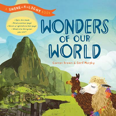 Shine a Light: Wonders of our World - Jacket