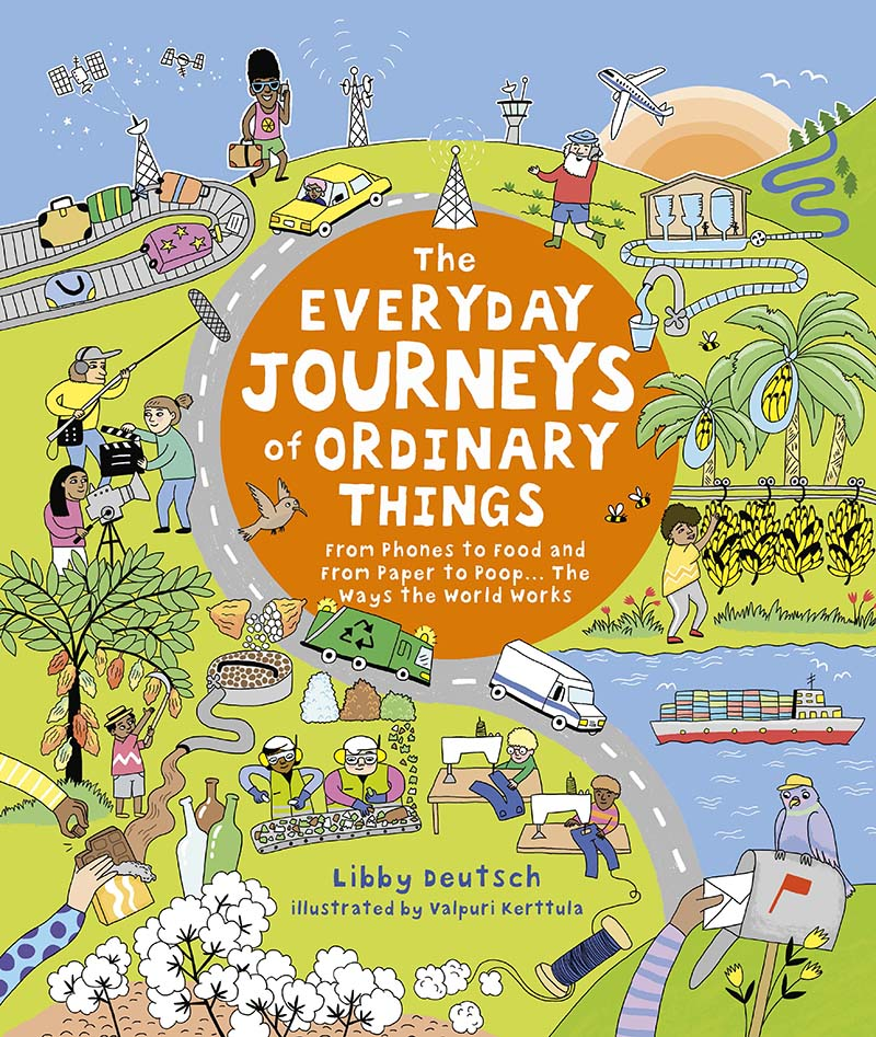 The Everyday Journeys of Ordinary Things - Jacket
