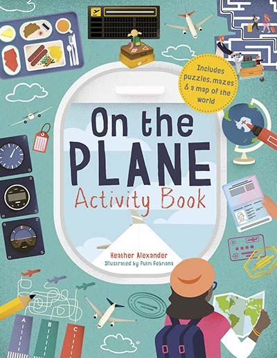 On The Plane Activity Book - Jacket