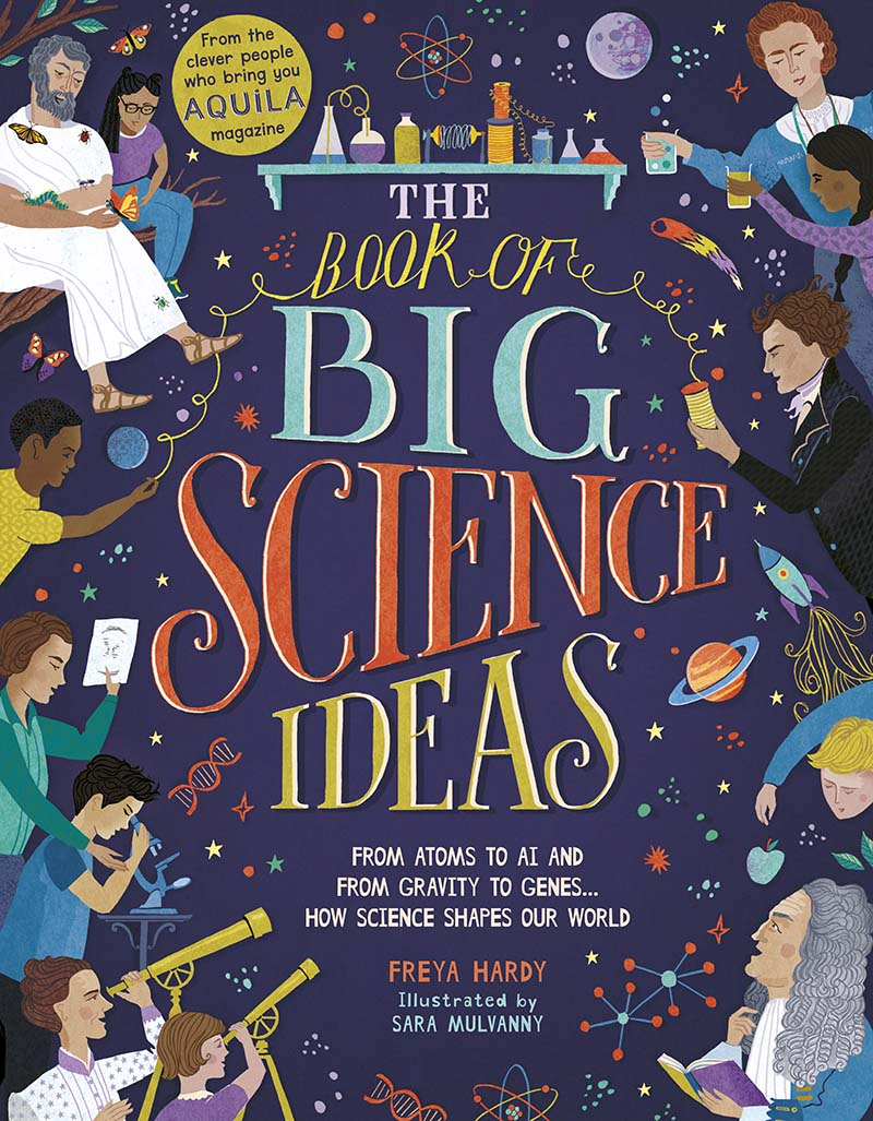 The Book of Big Science Ideas - Jacket