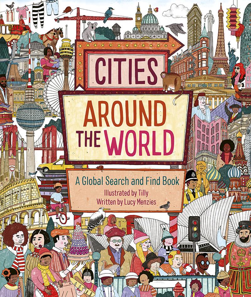 Cities Around the World - Jacket