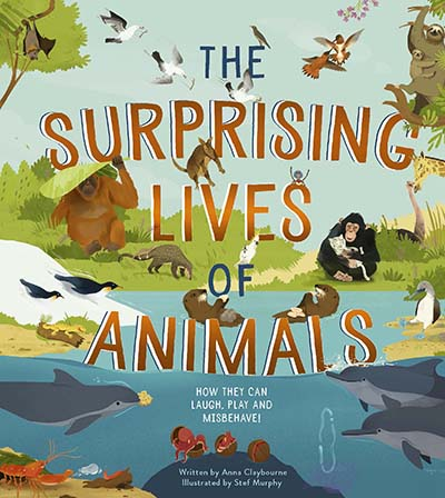 The Surprising Lives of Animals - Jacket