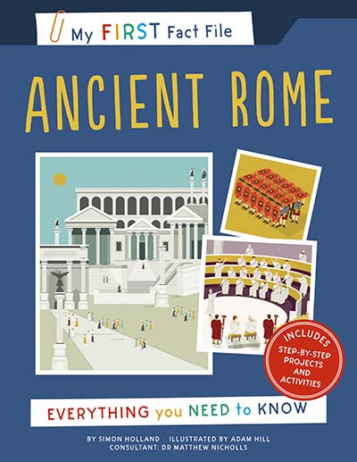 My First Fact File Ancient Rome - Jacket