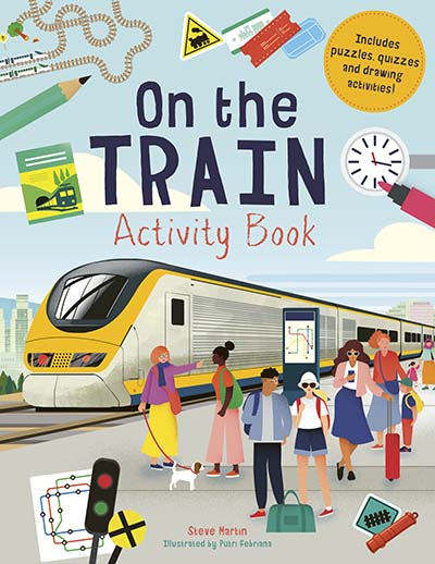 On the Train Activity Book - Jacket