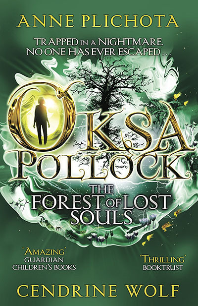 Oksa Pollock: The Forest of Lost Souls - Jacket