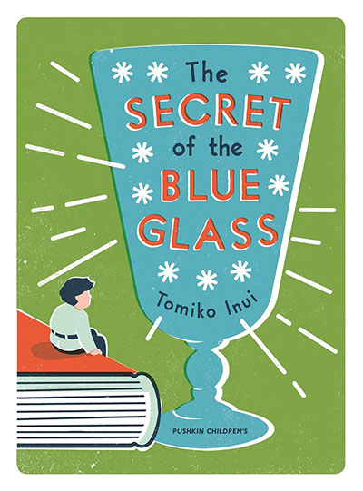 The Secret of the Blue Glass - Jacket