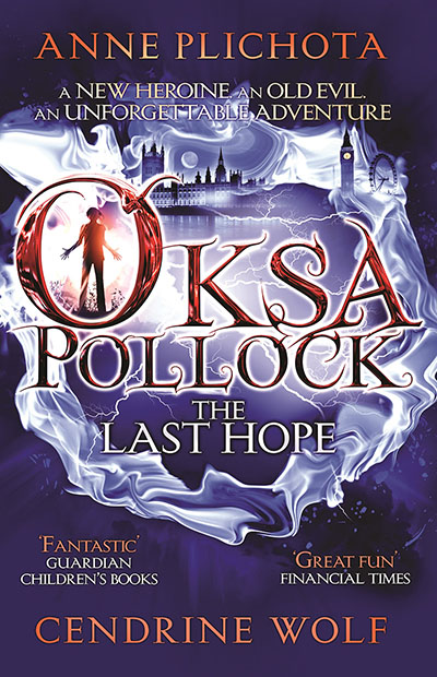 Oksa Pollock: The Last Hope - Jacket
