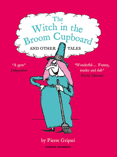 The Witch in the Broom Cupboard and Other Tales - Jacket