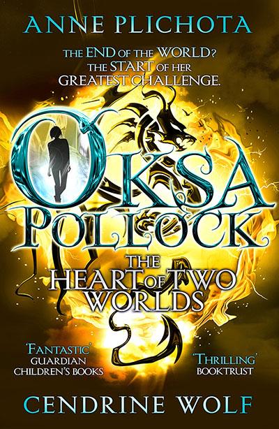Oksa Pollock: The Heart of Two Worlds - Jacket