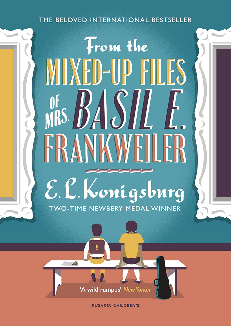From the Mixed-up Files of Mrs. Basil E. Frankweiler - Jacket
