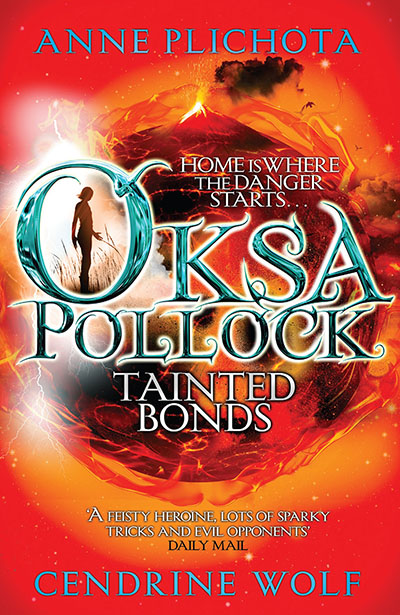 Oksa Pollock: Tainted Bonds - Jacket