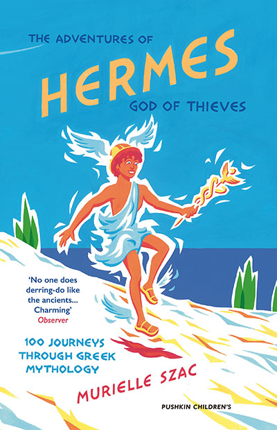 The Adventures of Hermes, God of Thieves - Jacket