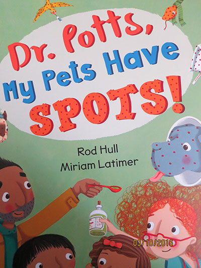 Dr Potts, My Pets Have Spots - Jacket