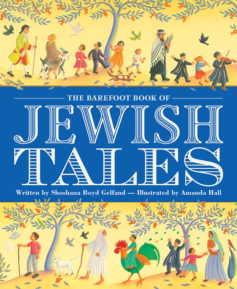 The Barefoot Book of Jewish Tales - Jacket