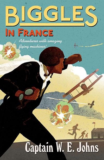 Biggles in France - Jacket