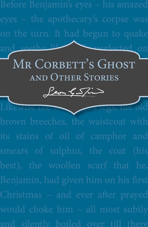 Mr Corbett's Ghost - Jacket
