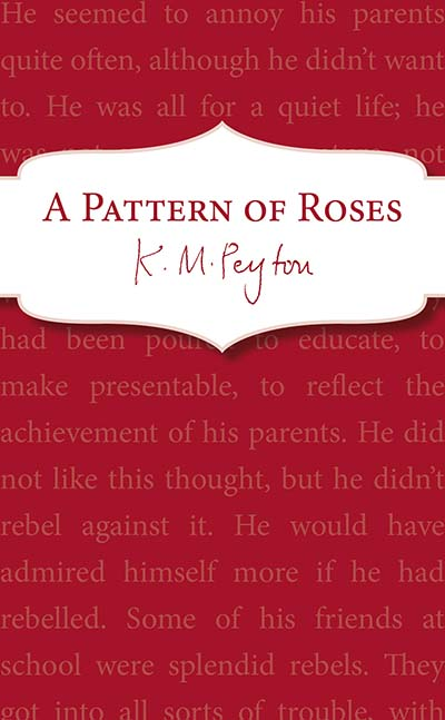 A Pattern Of Roses - Jacket