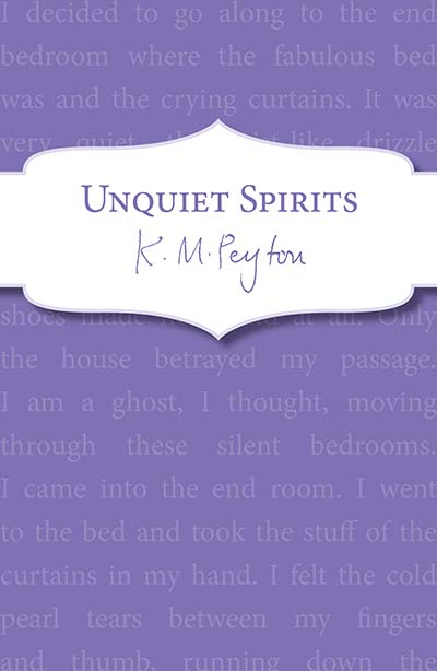 Unquiet Spirits - Jacket