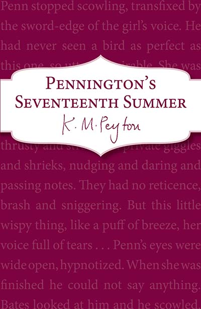 Pennington's Seventeenth Summer - Jacket