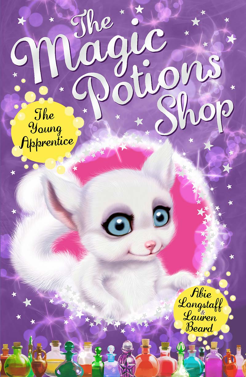 The Magic Potions Shop: The Young Apprentice - Jacket
