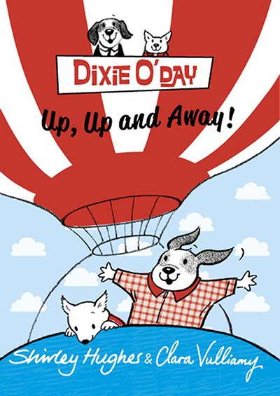 Dixie O'Day: Up, Up and Away! - Jacket