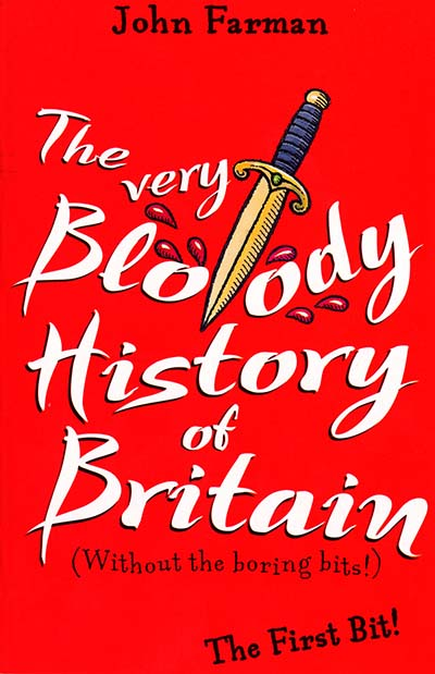 The Very Bloody History Of Britain - Jacket