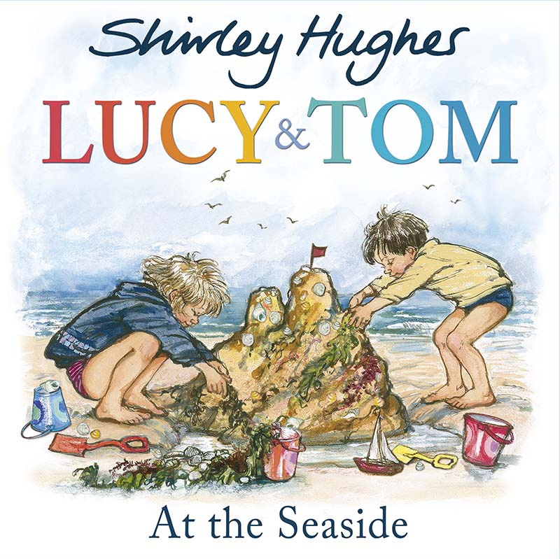 Lucy and Tom at the Seaside - Jacket