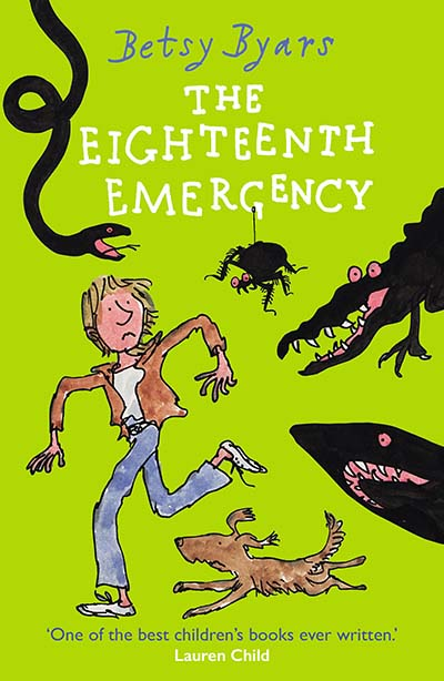 The Eighteenth Emergency - Jacket