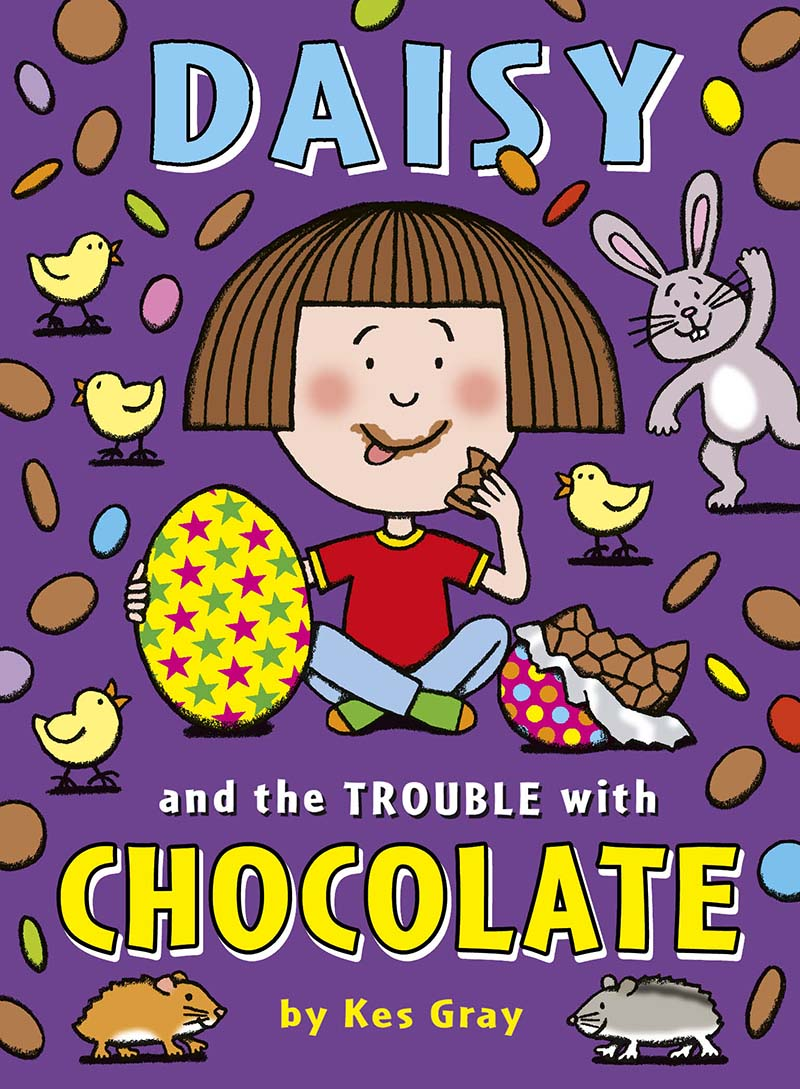 Daisy and the Trouble with Chocolate - Jacket