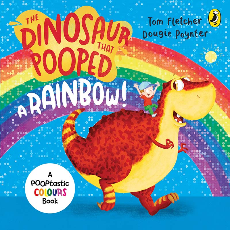 The Dinosaur That Pooped A Rainbow! - Jacket