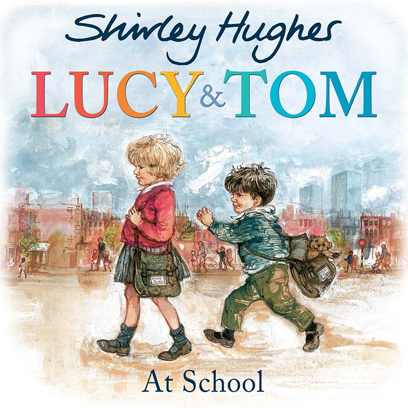 Lucy and Tom at School - Jacket