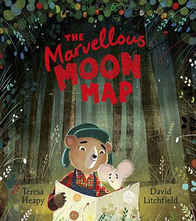 The Marvellous Moon Map - Jacket