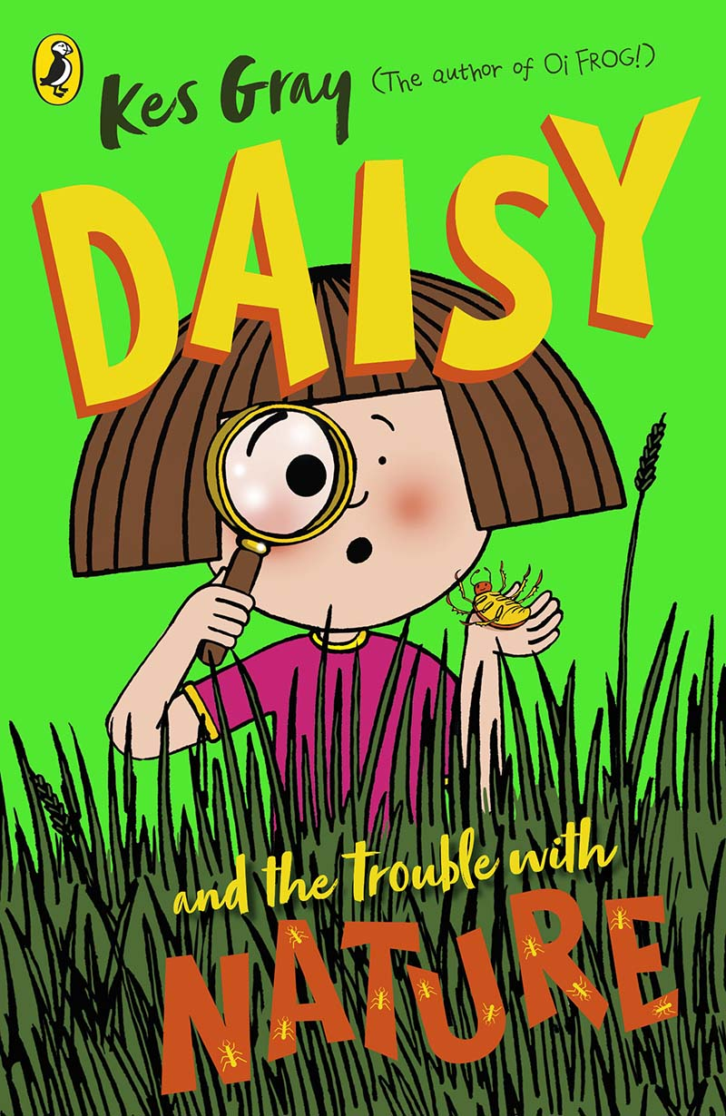 Daisy and the Trouble with Nature - Jacket