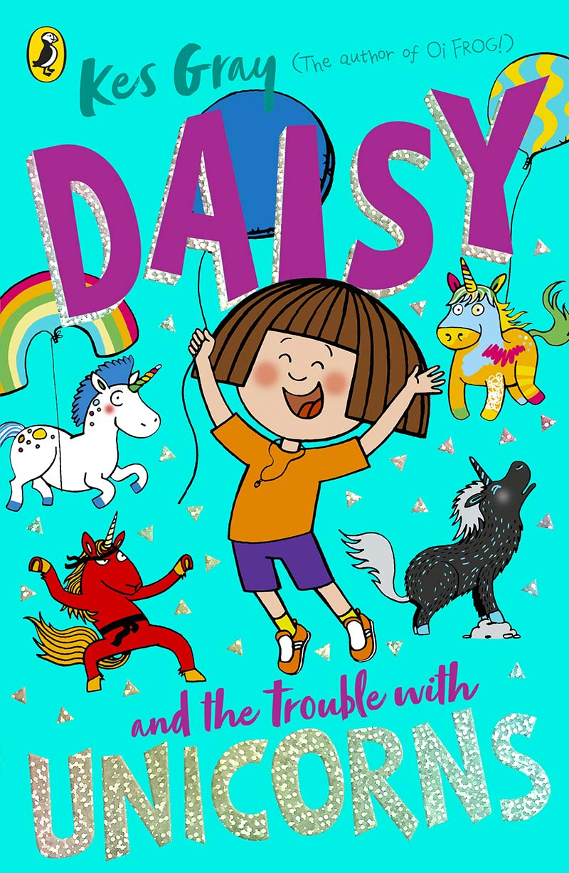 Daisy and the Trouble With Unicorns - Jacket