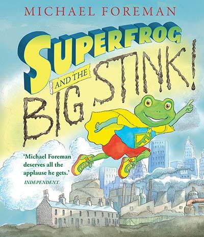 Superfrog and the Big Stink - Jacket
