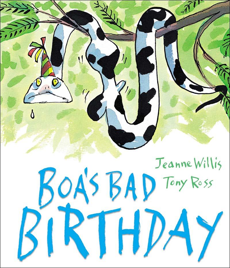 Boa's Bad Birthday - Jacket