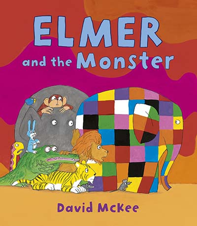 Elmer and the Monster - Jacket