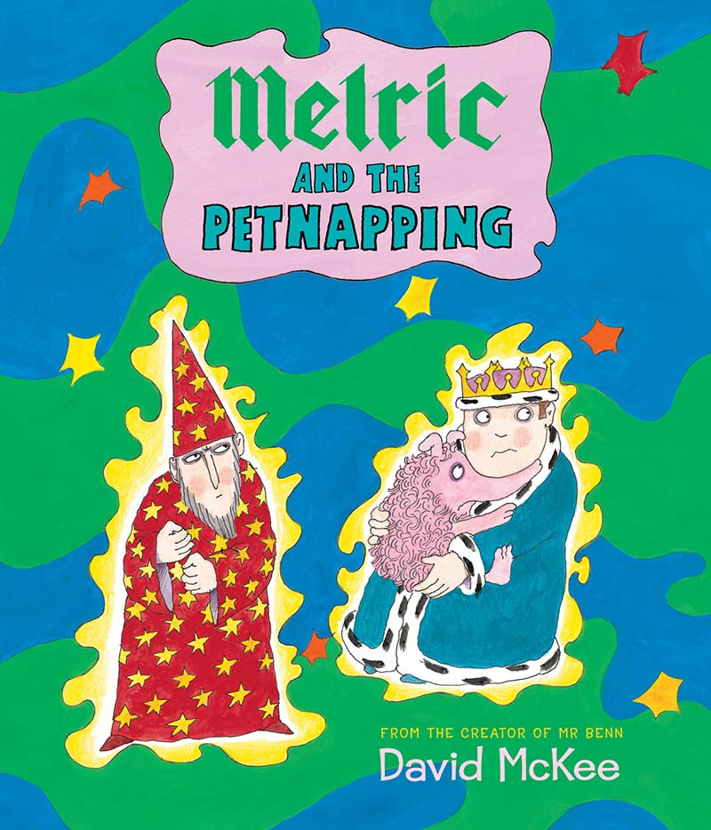 Melric and the Petnapping - Jacket