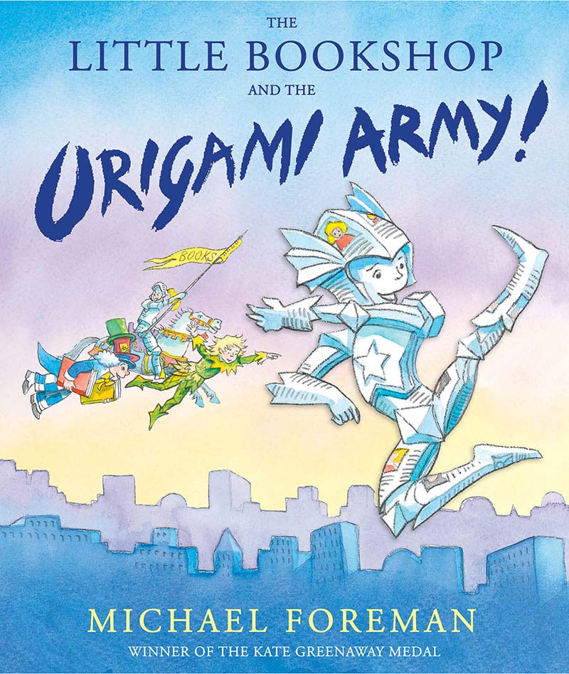 The Little Bookshop and the Origami Army - Jacket