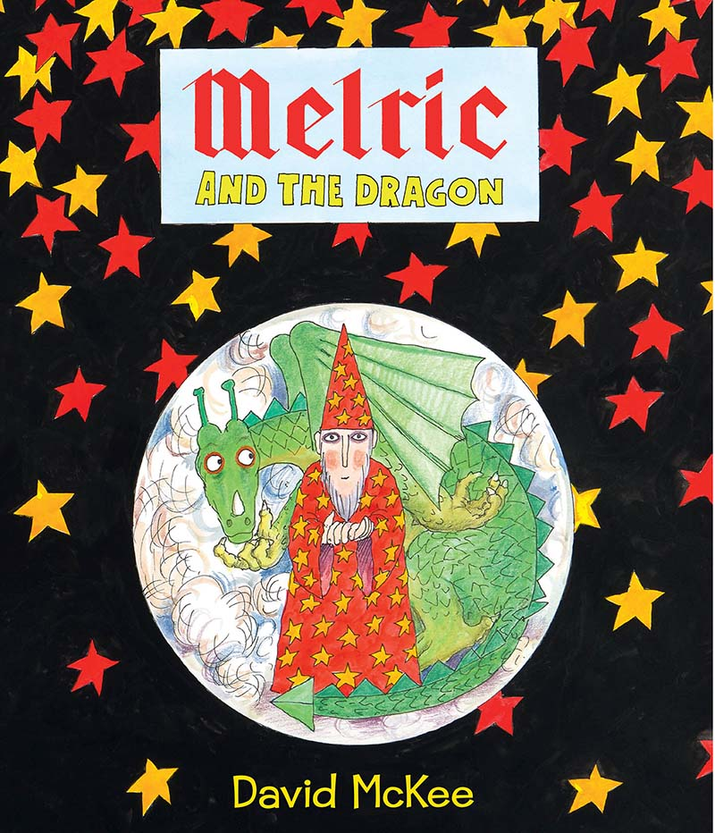 Melric and the Dragon - Jacket