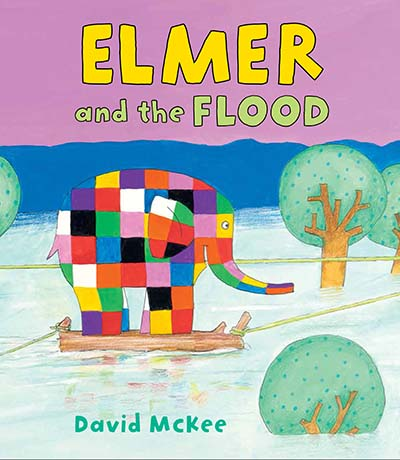 Elmer and the Flood - Jacket
