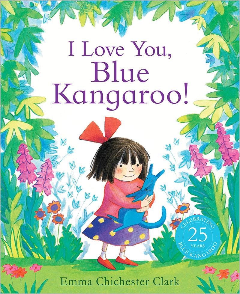 I Love You, Blue Kangaroo! - Jacket