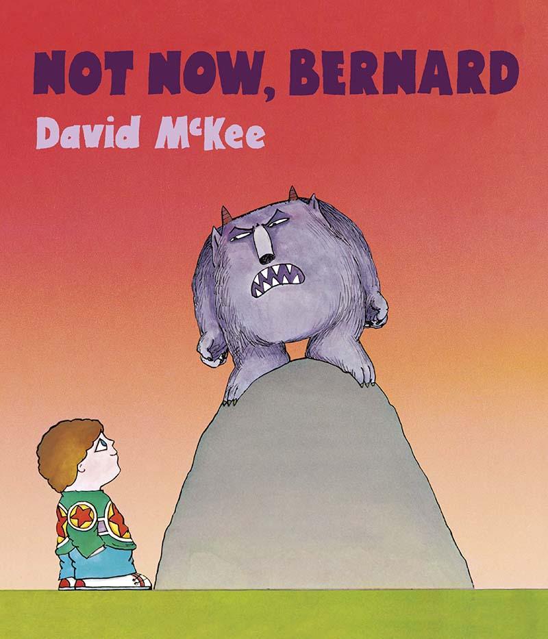 Not Now, Bernard - Jacket